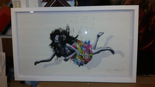 Martin Whatson and Snik Falling girl