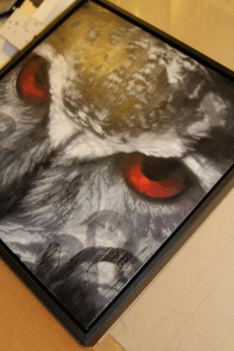 Snik Owl Canvas