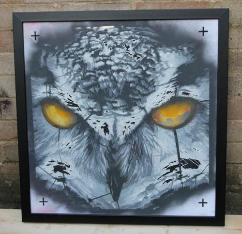 Stencil framed