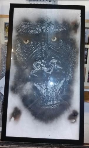 snik gorilla stencil