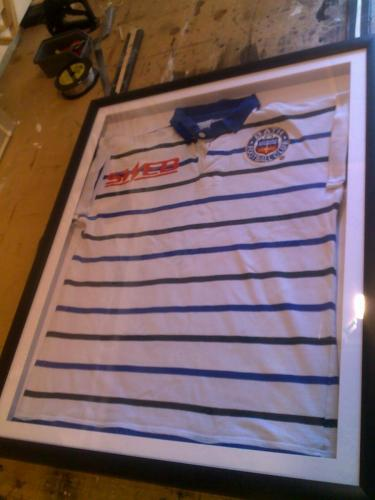 Bath Football Club Shirt Framed