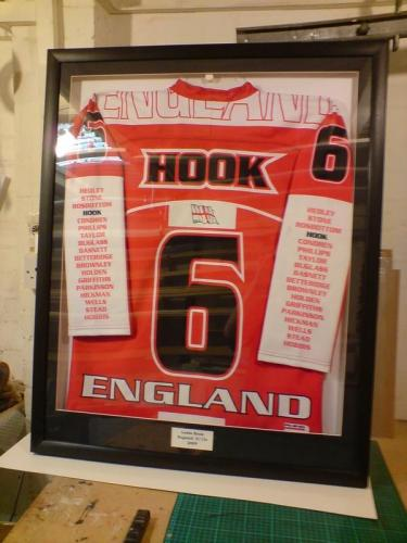 Ice Hockey Shirt Framing