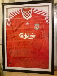 Liverpool-sport shirt football framing