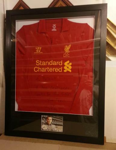 Liverpool Manager Signed shirt