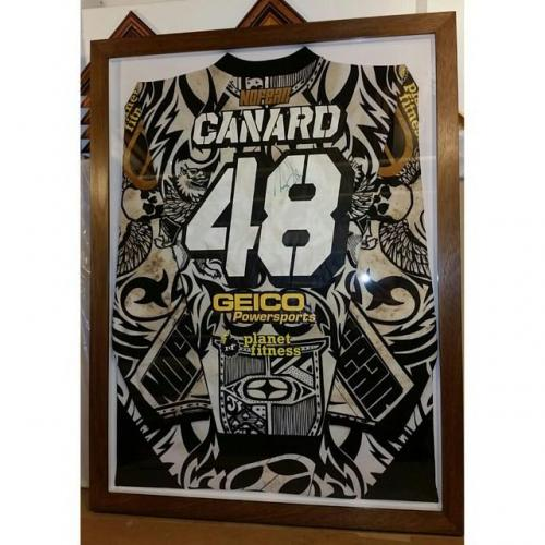 Motocross Top signed by Canard