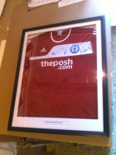 Team Signed Posh Shirt