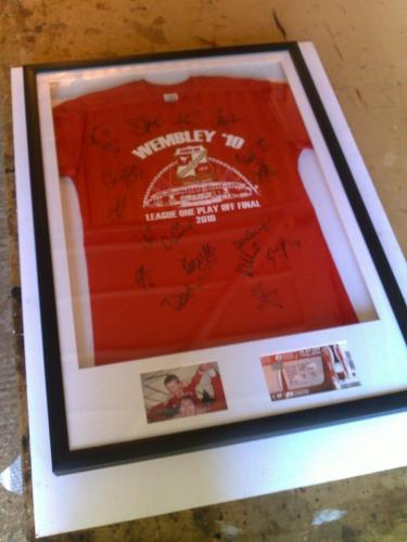 Wembley Memorabilia Framing