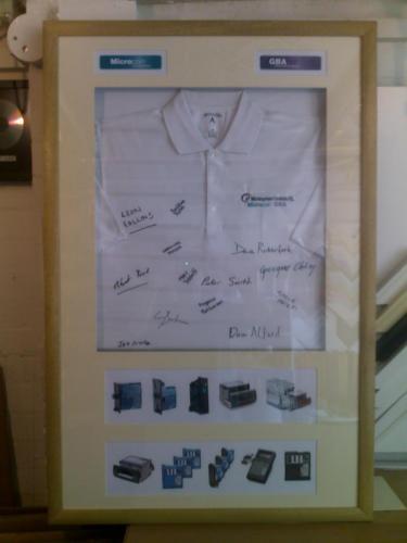 Work Leaving signed Shirt