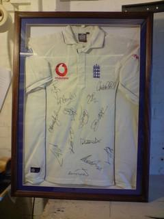 england-cricket-shirt-framing