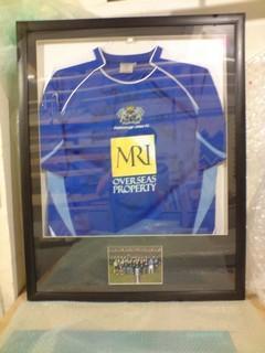 peterborough-football-shirt-framing
